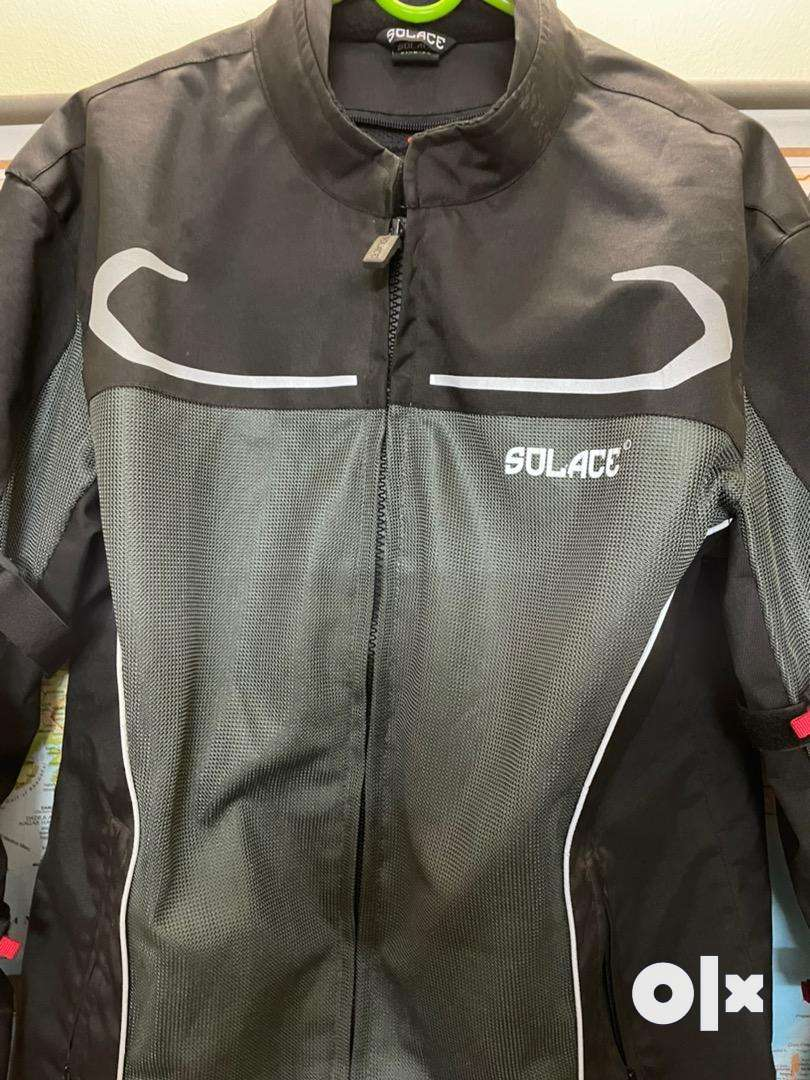 Solace Biker jacket with 2X safety guards 0