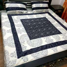 Centr embroidery bedsheets available in only 1200