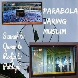 Antenna parabol jaring kajian islam