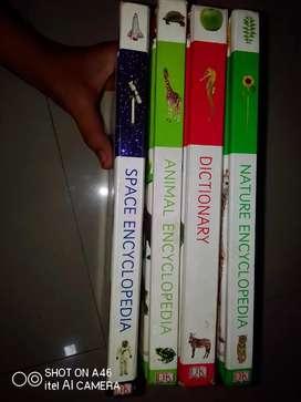 Set of 4 encyclopedia