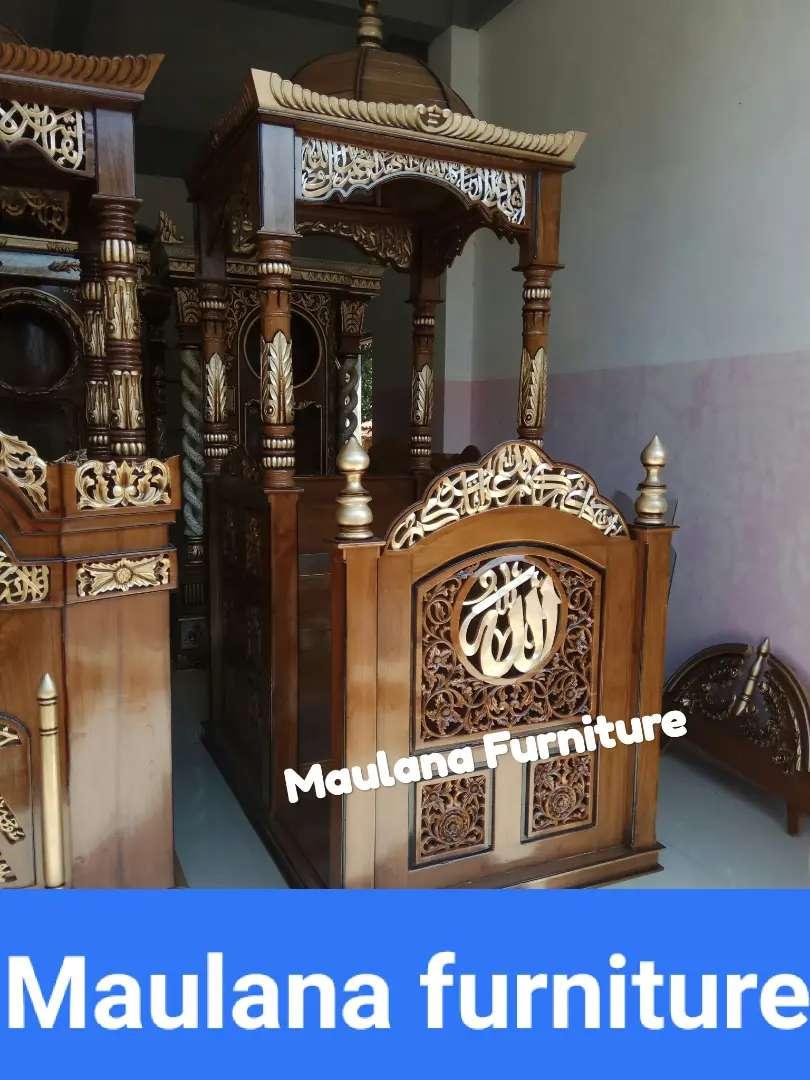 Mimbar podium masjid jati spesial