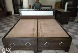 Ek dam Naya double bed low price pe