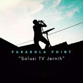 Antena Parabola Penjernih tayangan Tv beserta Pemasangan