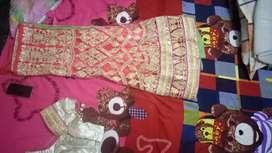 Leghna type saree