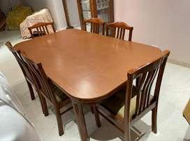 Six Seater Teak Dining Table