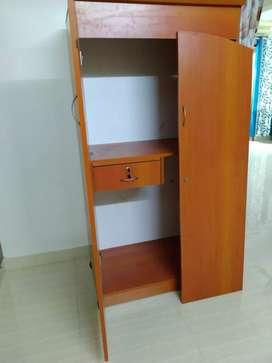 Wood cardboard wardrob