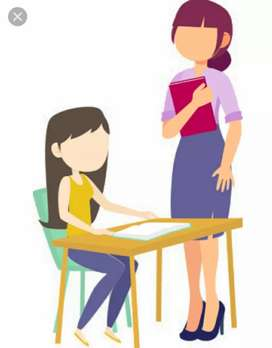 Available Home tuition for LkG to class 5 ( All syllabus)