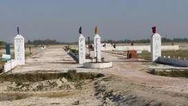 Plot In Lucknow 225 & 250 r/s sqft Main Kishanpath & faizabad road lko