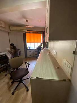 commercial office on carpet area is 200sqft.and very good locality.
