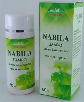 SHAMPO KUTU RAMBUT NABILA 60 g