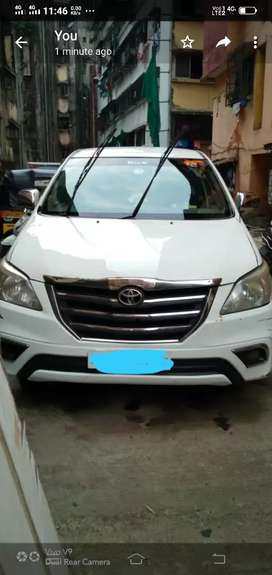 Want to sell this white innova because I have three cars