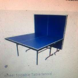 Table Tennis Folding wheel