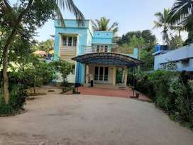 10cent plot with 1600 sq.ft 3BHK house  in kollam ramankulangara
