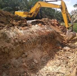 dijual  excavator  pc200-6 komatsu  th 97  kondisi siap kerja