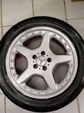 Velg Mercy AMG CL 2 pieces (4 biji) Ring 18 + Ban 235/50/18