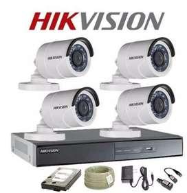 Siap pasang kamera cctv hilook Dan Hikvision 2mp