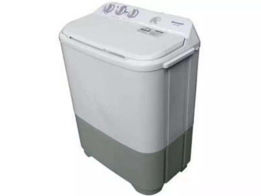 Mesin Cuci Sharp 6.5kg 2 Tub Baru | COD makassar 0