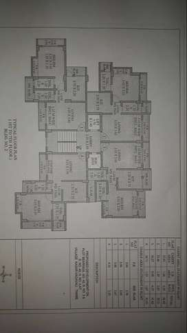 1bhk for sale at cosmos lily Kasarvadavali