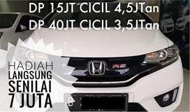 HONDA JAZZ RS DP15 AJAH CVT AT 2014 PUTIH NEW MODEL KM 52RB No NIK2013