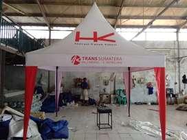 Tenda kerucut 3x3 meter custom bebas. Ready stock palembang