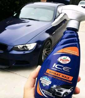 Turtle Wax Ice Spray Wax Premium Car Care 591ml Quick Speed Wax