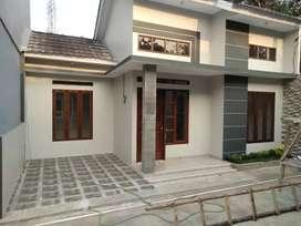 Rumah minimalis dalam cluster di depok