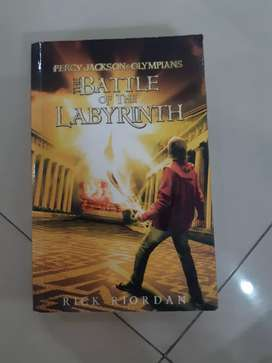 Novel Percy Jackson & Olympians The Battle Of The Labyrinth (indo)