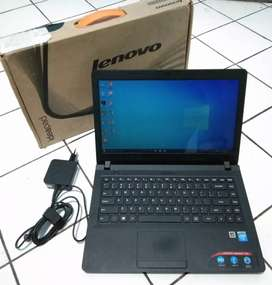 Laptop Lenovo 4GB/500GB Slim mulus