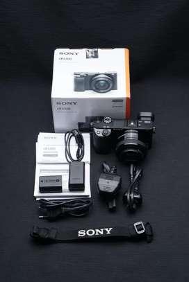Sony a6100 kit 15-50mm Mulus Lengkap