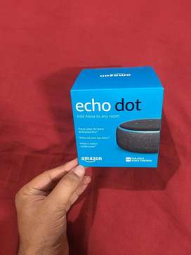 Sealed Echo Dot Alexa for sale.