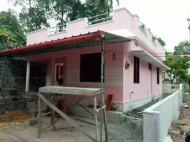 3 cent land with 2 bedroom house near Kottamury