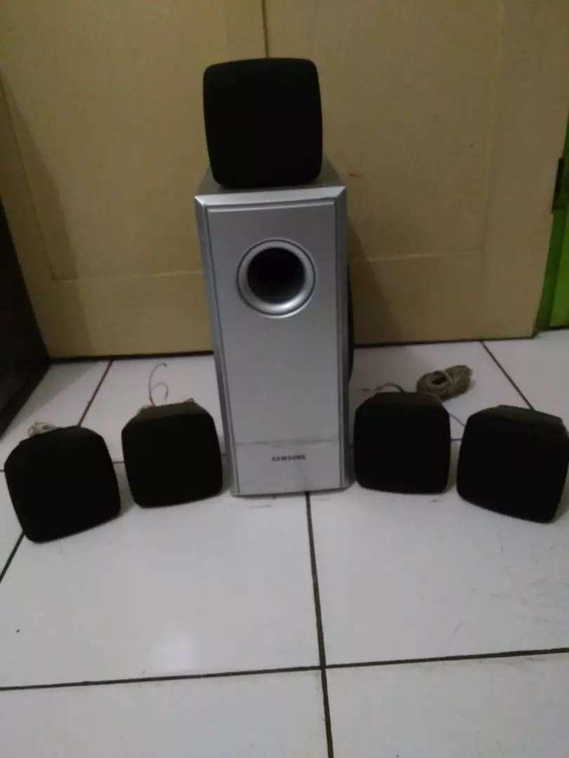 Speaker pasif satelite 5 home theater Samsung PS RZ 120 0