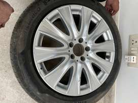 ORIGINAL MERCEDES- S CLASS ALLOYS AND TYRES
