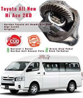 Gardan Toyota All New Hi Ace 2KD Garansi Siap Pakai Mulus