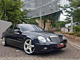 Mercedes Benz E230 W211 2009 / 7-Gtronic / Black on Beige / No Fault !