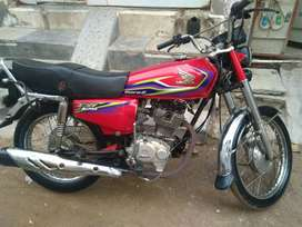 Honda CG 125 Karachi Number Sealed pack 2017 Euro2