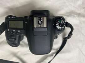 Cannon 77D DSLR Camera