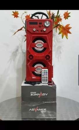 """Speaker double 4 """" Bluetooth bisa karaoke"""