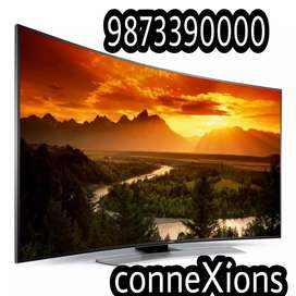 50inch UHD Smart Android Black Flat Screen Led Tv