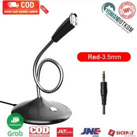 SF300 Studio Stereo Recording Microphone 360 Degree Rotation 3.5mm