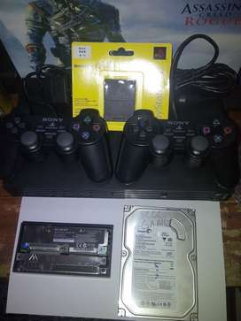 Ps2 hdd 40gb/60gb/80gb/160gb lengkap TT ps3 ps4