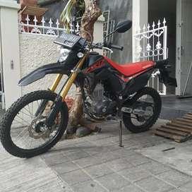 Honda CRF 150 mulus 2020 Bali Dharma motor