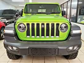 All New Jeep Wrangler Rubicon JL - unit batal pakai