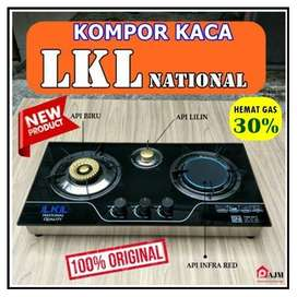 Kompor Tanam Duduk Gas Kaca LKL 2 Tungku Kompor Kaca LKL