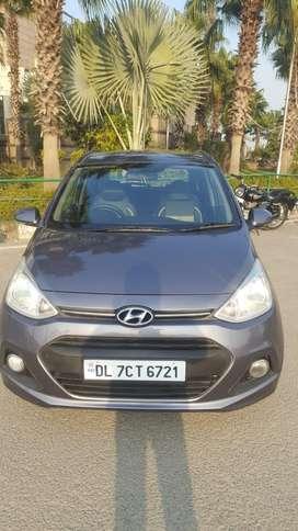 Hyundai Grand i10 2013-2016 Asta Option, 2015, Petrol