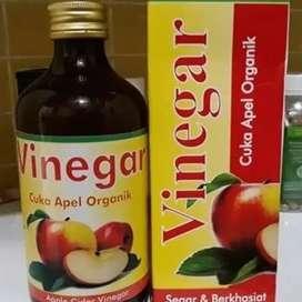 Vinegar (Segar Dan Berkhasiat) isi bersih 330ml. Cuka Apel Organik.