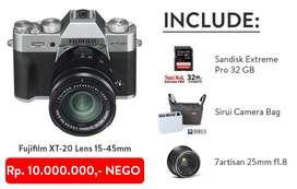 Fujifilm XT-20 Lens 15-45mm ++