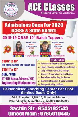 Urgently required Biology teacher for CBSE class 9th & 10th