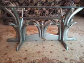 Centre table with 2 side tables