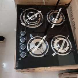 Built in Hobs  4 Brass Burners brand new calix